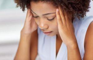 Stressed Woman Facial Treatments Atlanta GA