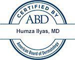 Humza Ilyas, MD Certified by ABD American Board of Dermatology