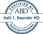 Kelly I. Beander MD Certified by ABD American Board of Dermatology
