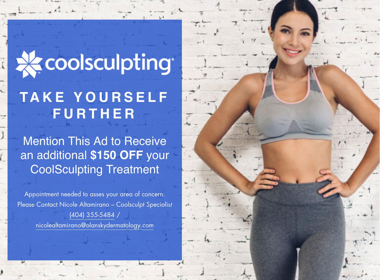 Coolsculpting $150 off