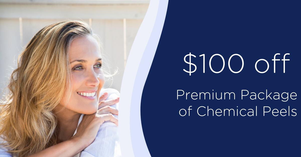 $100 Off Premium Package of 3 Chemical Peels